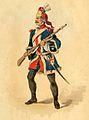 Arquebusiers de Grassin, Infanterie XVIIIe siècle 01.jpeg