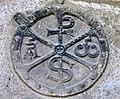 Arreau.- Chrisme de l'Eglise Saint Exupère.jpg
