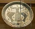 Artemis, Parian pottery plate, 675-600 BC, AM Mykonos, 177233.jpg