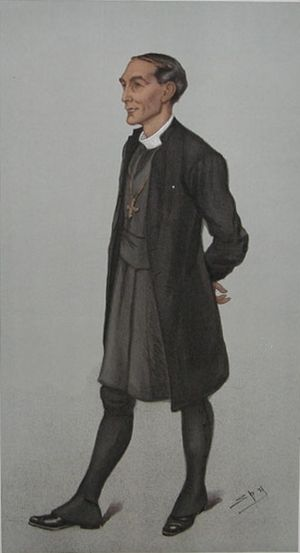 "Arthur Winnington-Ingram - ""London"" – Winnington-Ingram as caricatured by Spy (Leslie Ward) in Vanity Fair, May 1901"