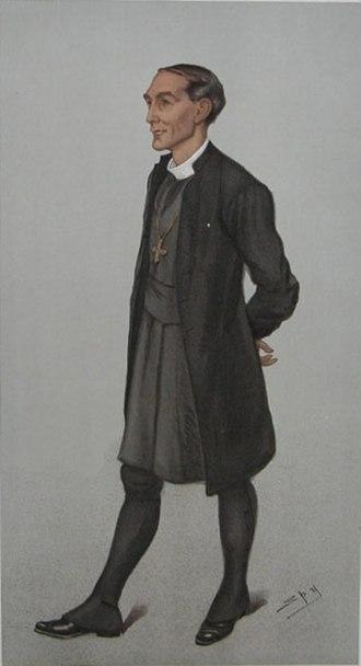 "Arthur Winnington-Ingram - ""London"" – Winnington-Ingram as caricatured by Spy (Leslie Ward) in Vanity Fair, May 1901"