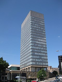 Image result for sheffield university arts tower
