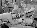 At An ATS Motor Transport Company Training Centre, Camberley, Surrey, 1941 D5715.jpg
