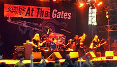 At the Gates 在2008年的 上的表演