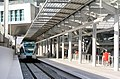 Athens Airport suburban rail and metro station.jpg