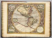 南極大陸-発見まで-Atlas Cosmographicae (Mercator) 041