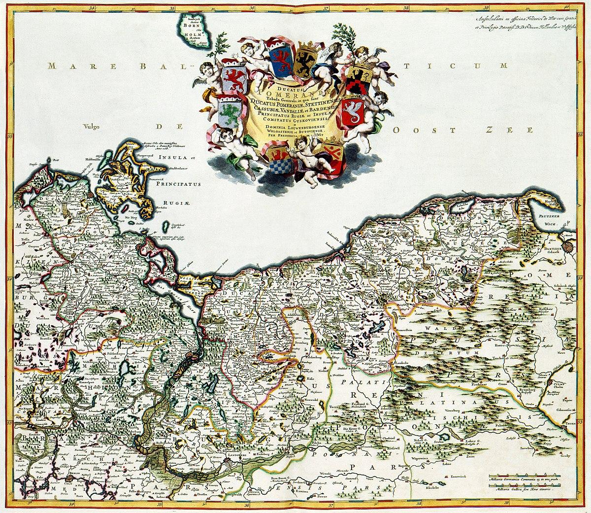 History Of Pomerania Wikipedia