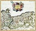 Atlas Van der Hagen-KW1049B10 060-DUCATUS POMERANIAE Tabula Generalis, in qua sunt DUCATUS POMERANIAE, STETTINENSIS CASSUBIAE, VANDALIAE et BARDENSIS, PRINCIPATUS RUGIAE ac INSULAE, COMITATUS GUSKOVIENSIS.jpeg