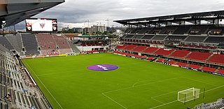 Audi Field soccer stadium in Washington, D.C. completed in 2018