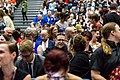 Audience and James Bacon at the Hugo Award Ceremony at Worldcon 75 in Helsinki.jpg