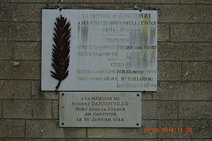 Audignicourt - Audignicourt War Memorial