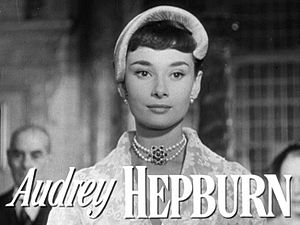L'Interdit - Image: Audrey Hepburn in Roman Holiday trailer