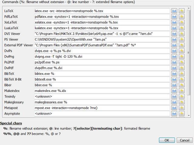 File:Automatic detection of MikTeX, TeX Live, Ghostscript
