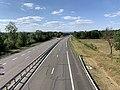 Autoroute A40 vue depuis Pont Chemin Vieux Replonges 4.jpg