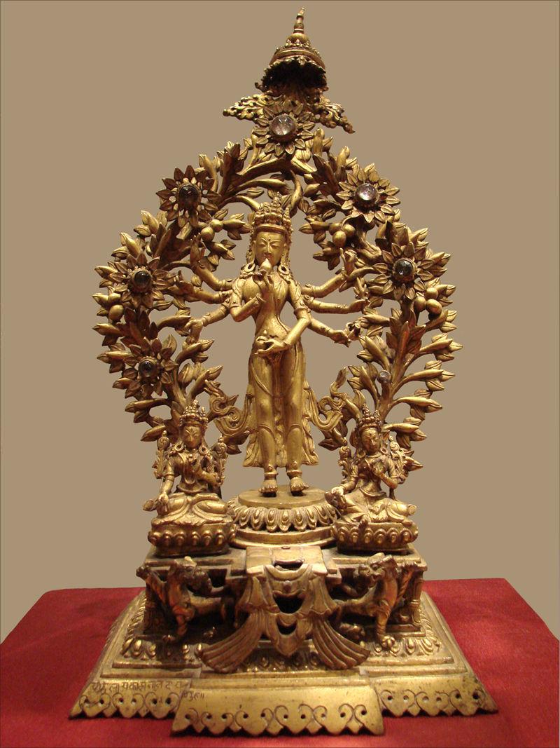Avalokiteshvara (Musée nat. Oriental dart, Rom) (5874590554) .jpg