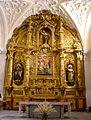 Avila - Monasterio de la Encarnacion 62 (Capilla donde Santa Teresa y San Juan de la Cruz cayeron en extasis).jpg