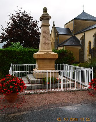 Avrilly, Allier - Avrilly War Memorial
