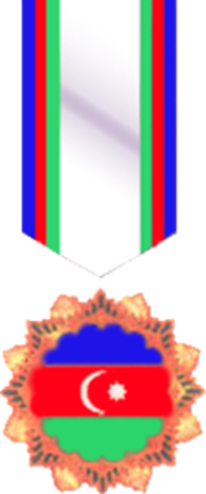 Azerbaijani Flag Order - Azerbaijani Flag Order medal