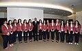 Azerbaijani athletes competing in Baku Chess Olympiad 6.jpg