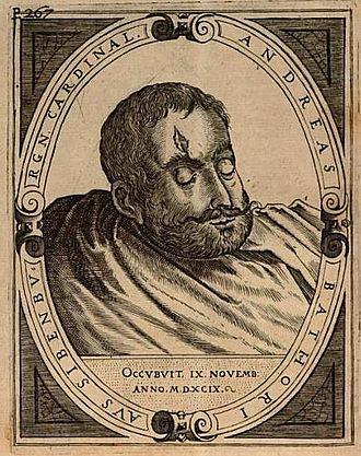 Andrew Báthory - Andrew's head
