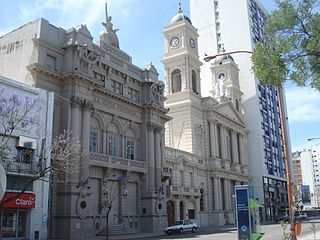 Church in Bahía Blanca, Argentina
