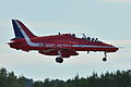 "BAe Systems Hawk 128 T.2 Royal Air Force ""Red Arrows"" XX219 (9704185932).jpg"