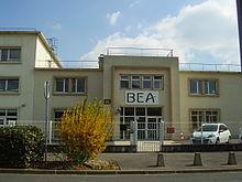 ル・ブルジェ空港のBEA本社