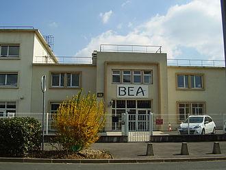 Bureau d'Enquêtes et d'Analyses pour la Sécurité de l'Aviation Civile - Building 153, the head office of the BEA