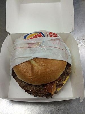 Burger King premium burgers - Image: BK Ultimate Bacon Cheeseburger