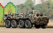 BTR-80 of Bangladesh Army