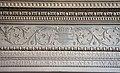 Badia fiesolana, lavabo del 1653, 04 architrave del 1460 di Francesco di Simone Ferrucci.JPG