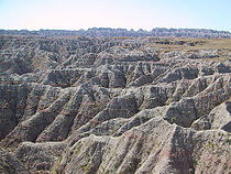 Formations rocheuses des Badlands