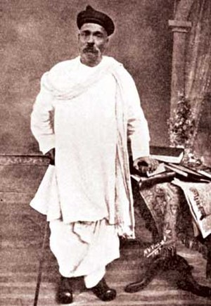 Indian independence movement - Bal Gangadhar Tilak.