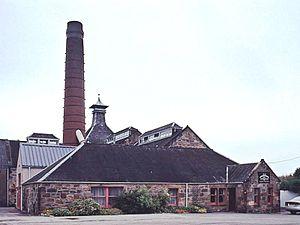 Balblair distillery - View of Balblair Distillery