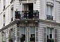 Balcony, rue de la Cerisaie - rue de Lesdiguières, Paris September 2017.jpg