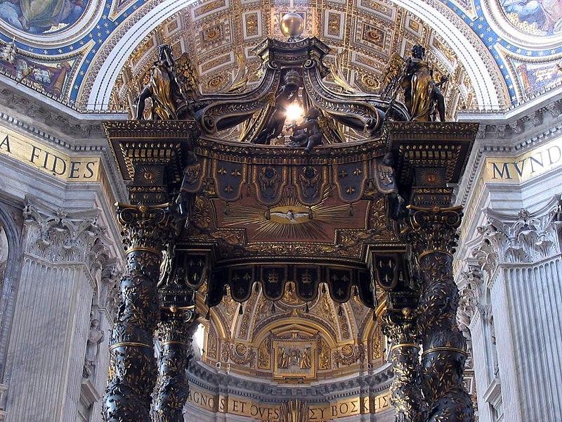 Giovanni Lorenzo Bernini - Page 2 800px-Baldachin_petersdom