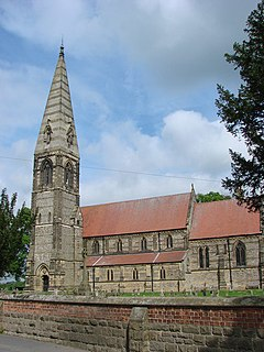 Church of St James, Baldersby Church in North Yorkshire, England