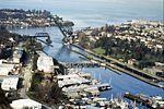 Ballard Locks and Shilshole Bay, 1990 (27233990176).jpg