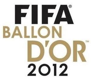 2012 FIFA Ballon d'Or - Image: Ballondor 12M