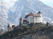 Liechtenstein-History-Balzers Schloss