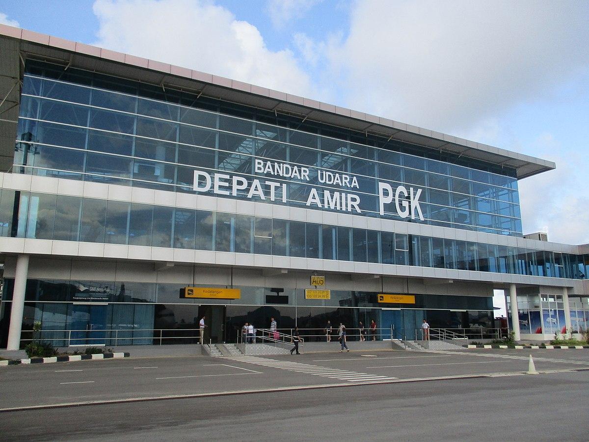 depati amir airport