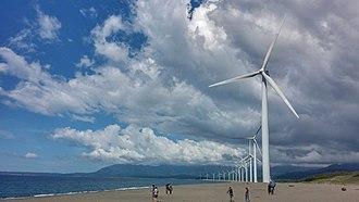 Ilocos Norte - Image: Bangui Windmill