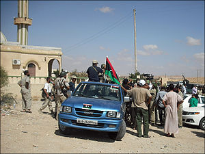 Bani Walid - Bani Walid during the Libyan Civil War