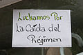 Banner at demonstrations and protests against Chavismo and Nicolas Maduro government 30.jpg