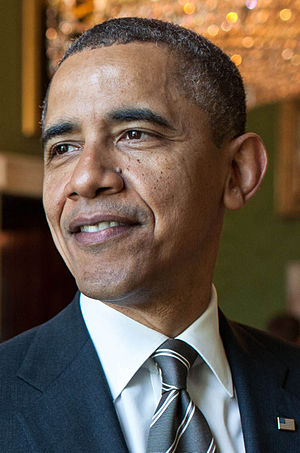 Democratic Party presidential candidates, 2012 - Image: Barack Obama (April 2012)