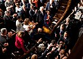 Barack Obama shakes hands as he enters the House Chamber at the U.S. Capitol in Washington, D.C., 2009.jpg