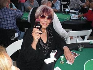 Barbara Enright - Enright in 2009. during Monte Carlo Night, an annual charity poker tournament held at the Northridge, California, estate of Nancy Cartwright.