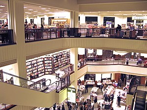 The interior of the :en:Barnes & Noble located...