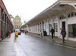 Butchers Row i Barnstaple