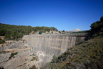 Zola Dam - The Zola Dam.